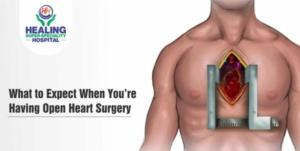 Open heart surgery in Chandigarh