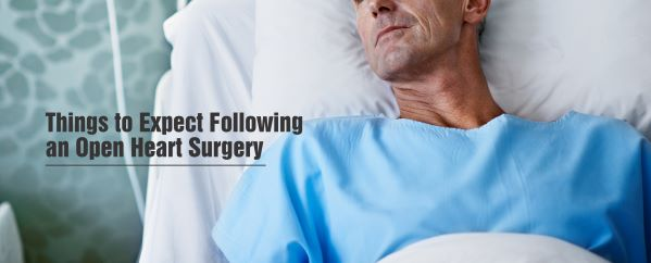 Things to Expect Following an Open Heart Surgery
